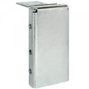 Butoir de quai 759 faible épaisseur avec platine allongée de 250 mm - Dimension 470x232x86 mm
