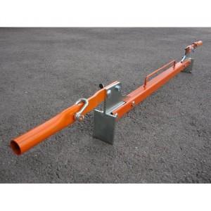 Pince pour bordures de trottoir de 1 m PB AVEC poignées repliables - Capacité 250 kg