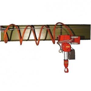 Ligne d'alimentation LAP avec tuyau spiralé pour palan pneumatique