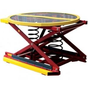 Table élévatrice manuelle à niveau constant avec plateau pivotant à 360° - Capacité 2000 kg