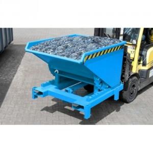 Benne basculante BBCL pour CHARGES LOURDES 300 litres à 2100 litres - Capacité 4000 kg