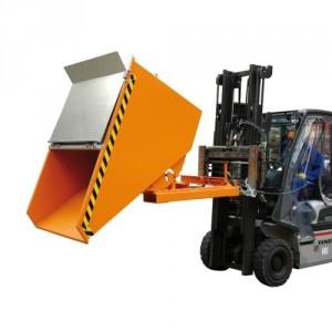 Benne basculante compact BBE 150 litres à 2100 litres - Capacité 750 kg à 1500 kg