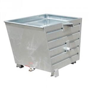 Bac à copeaux BBSL 300 litres à 2000 litres - Capacité 500 kg à 2000 kg