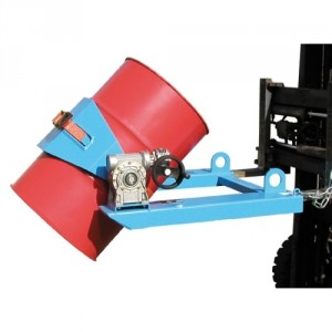 Basculeurs de fûts BFLX-HK déversement d'un fût métallique à bonde de 200 litres - Capacité 300 kg