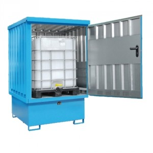 Box pour produits dangereux 217BGDEI1110 - Volume de rétention 222 Litres à 1110 Litres