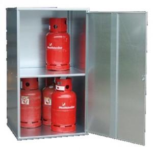 Box pour bouteilles de gaz BGFCD - Capacité 2 à 20 bouteilles