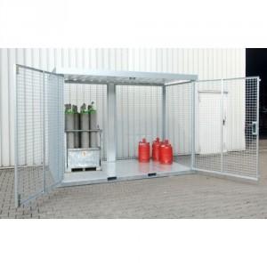 Box pour bouteilles de gaz BGFCEM - Capacité 16 à 104 bouteilles