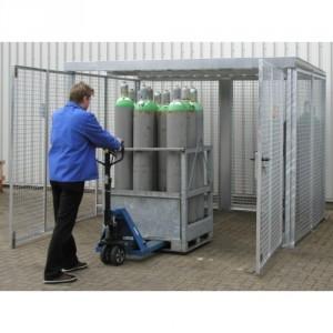 Box pour bouteilles de gaz BGFCM - Capacité 16 à 104 bouteilles