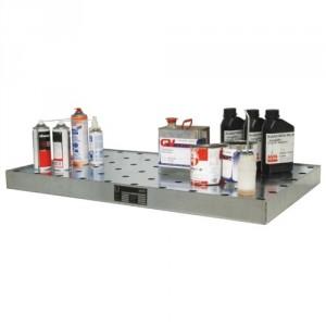 Bac de rétention pour petits récipients BKGW - Capacité 150 kg