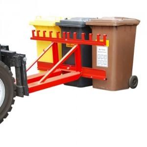 Élévateur de poubelle BMHIII - Capacité 200 kg à 600 kg