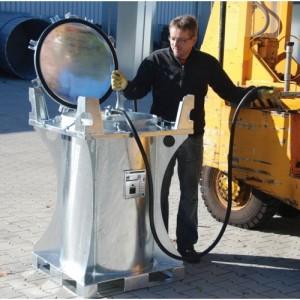 Conteneur BMT - Volume de rétention 235 litres - Capacité 725 kg