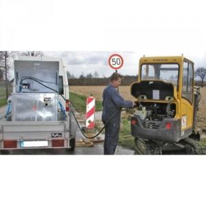 Cuve pour carburant 217BMTCM0450 - Volume de rétention 450 litres à 1000 litres - Capacité 775 kg et 1557 kg