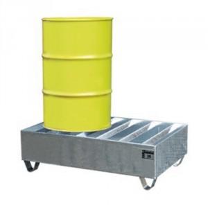 Bac de rétention BPWE - Volume de rétention 245 Litres à 440 Litres - Capacité de 480 kg à 960 kg