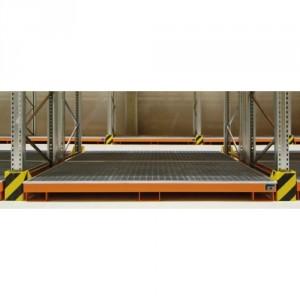 Bac de rétention avec insert PE BRWGP / BRWP - Volume de rétention 240 litres à 1298 litres