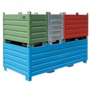 Caisse palette BSBS 500 litres à 2000 litres - Capacité de 500 kg à 2250 kg
