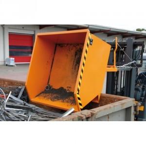 Bac basculante à copeaux BSGU 300 litres à 2000 litres - Capacité 750 kg à 1500 kg