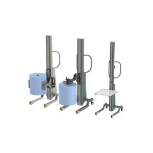 Gerbeurs semi-électriques GSEM acier ou inox- Capacité 80, 150 et 300 kg