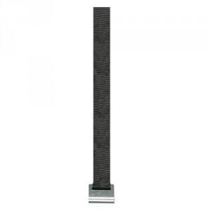 Sangle BAS DE RIDEAU BR47I seule (sans tendeur) largeur 47 mm, avec crochet INOX