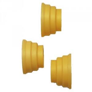 Douilles à gradins DG pour axe de bobines - Pour axes Ø 51 mm à 95 mm