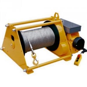 Treuil électrique à câble TE - Capacité 0,6 t à 10 t - Tambour normal