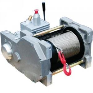 Treuil pneumatique à câble TRBPN - Capacité 0,54 t et 0,8 t