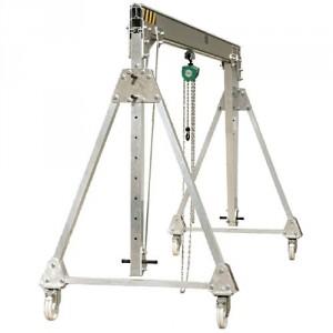 Portique démontable en aluminium PADCH - Capacité 0,25 t à 2 t