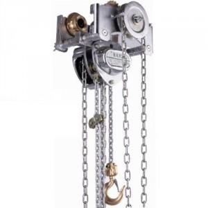 Palan manuel à chaîne combiné VHR Ex ATEX anti-étincelle avec chariot à direction par chaîne - Capacité 0,5 t à 20 t