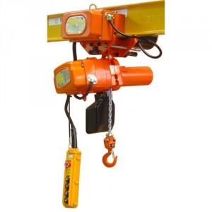 Palan électrique à chaîne ELEPHANT ALPHA EAMMV avec chariot électrique, monophasé 220 Volts avec vitesse de levage VARIABLE - Capacité 0,15 t à 0,5 t
