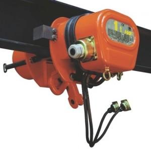 Chariot porte-palan à direction électrique ELEPHANT EMAS / EMTS - Capacité 0,25 t à 5 t
