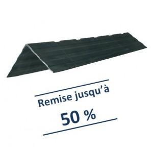 Cornière de protection noire RENFORCEE 180x130 - Longueur 1,20 m et 2,40 m