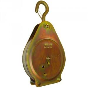 Poulie à cliquet pour corde Ø 20 mm à 30 mm CLIC - Capacité 50 kg