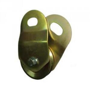 Poulie ciseaux ouvrante pour câble PXC - Capacité 1,6 t à 5 t