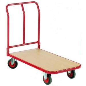800*042 - Chariot à dossier rabattable avec plateau en médium - Capacité 400 kg