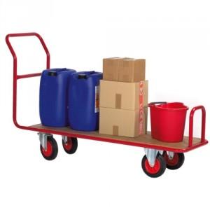 Chariots à dossier fixe adaptés aux passages étroits largeur 500 mm - Capacité 250 kg