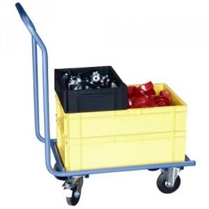 Chariot pour bacs (châssis nu sans plateau) - Capacité 200 kg