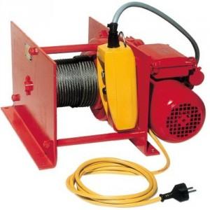 Treuil électrique à câble LB 220 V Monophasé et 380 V Triphasé - Capacité 0,125 t à 3,2 t