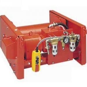 Treuil pneumatique à câble LBHP - Capacité 0,5 t à 10 t
