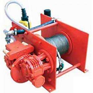 Treuil pneumatique à câble LBP - Capacité 0,25 t à 2 t
