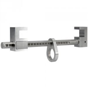 Ancrage mobile sur poutre AMR ajustable de 95 mm à 400 mm - Conforme EN 795 B