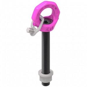 Anneau de levage rotatif RUD StarPoint VRS-F en longueur maximale - Filetage ISO M10 à M30