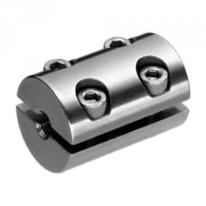 Anneau de serrage double inox pour câble Ø 3 mm à 8 mm