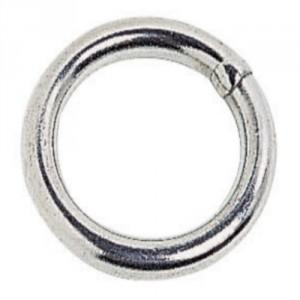 Anneau rond soudé acier zingué - Ø 3 mm à 12 mm