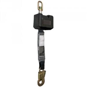 Antichute à rappel automatique avec sangle polyamide 50 mm - Longueur 2,50 m
