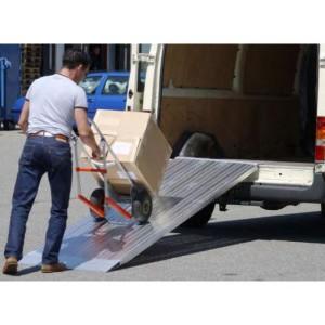 AOS-L - Rampe de chargement en aluminium grande largeur - Capacité de 605 kg à 1515 kg - Longueurs de 1,50 m à 2,97 m