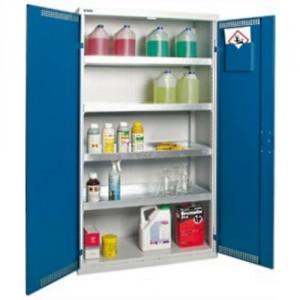 Armoire de stockage BSIW - Volume de rétention 2x20 litres et 4x20 litres