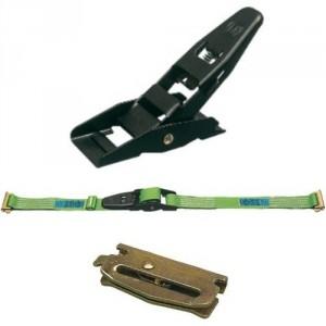 Arrimage INTERIEUR 45 mm 50ISP en 2 parties avec tendeur à levier et poussoirs - LC 800 daN