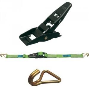 rrimage INTERIEUR 45 mm 50ISDR en 2 parties avec tendeur à levier et crochets à 2 doigts rapprochés - LC 800 daN