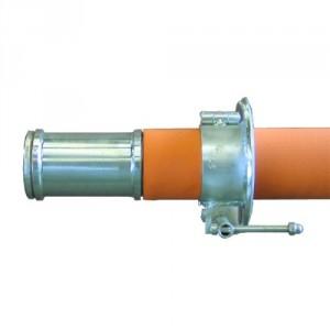 Axe de bobine de câble TOURNANT sur paliers lisses en acier (ATS) - Ø 60 mm à 95 mm