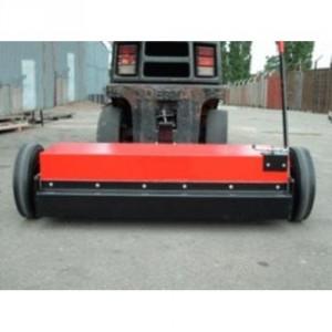 Balayeuse magnétique BMC pour chariot élévateur - Largeur utile 1,20 m, 1,50 m et 1,80 m