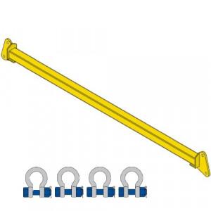 Barre d'écartement FIXE BEF - Capacité 1 t à 10 t
